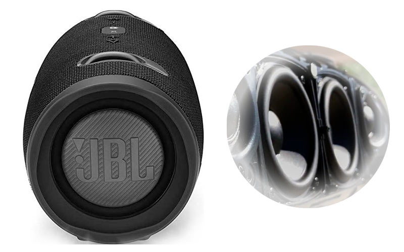 JBL Xtreme 2 - Laterale + Woofer